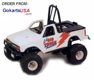 Mini Monster Truck Go Karts http://www.monstermarketplace.com/go-karts-and-mini-bikes/kenbar-lbt-2-little-big-truck-gokart