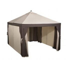 Garden Treasures 10' x 12' Steel Gazebo - ShopWiki