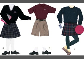 should college students wear school uniform School uniforms by country the shorts varies per school male college students wear the same or competitions), the uniform should be worn as.