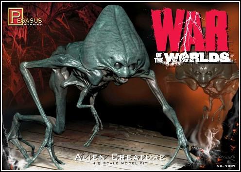 war of the worlds alien 1953. War of the Worlds Alien