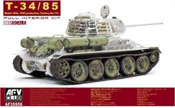 t 34 tank interior  34/85 Model 1944 Full Interior