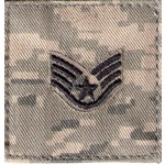 ABU AIR FORCE RANKS Blue Thread Color with VELCRO (2x2)