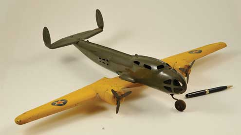 buddy l bomber toy airplane