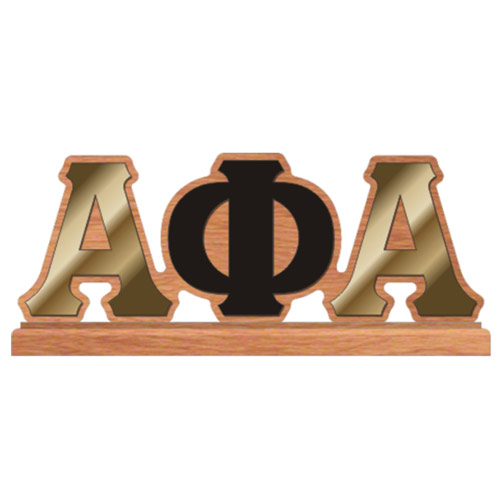 Alpha Phi Alpha Desktop Piece | MonsterMarketplace.com